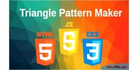 Pattern triangle maker