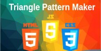 Pattern triangle maker