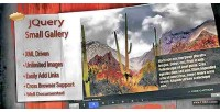 Small photo gallery jquery loaded ajax xml