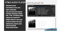 Player audio v2 playlist with