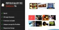 Portfolio jquery gallery tree