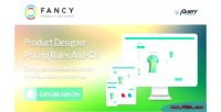 Product fancy designer jquery pricing on add