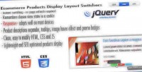 Products ecommerce switchers layout display