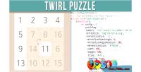 Puzzle twirl