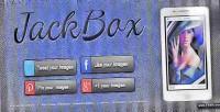 Responsive jackbox lightbox