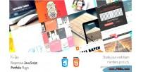 Responsive klax team grid products portfolio