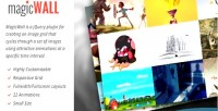 Responsive magicwall image grid