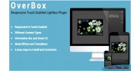 Responsive overbox touch plugin lightbox enabled