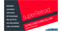 Retro superretroid galleries game video