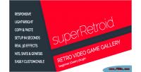 Retro superretroid galleries game video