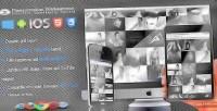 Slideshow responsive grid gallery photo