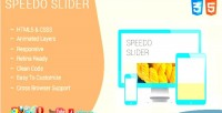 Speedo jquery slider
