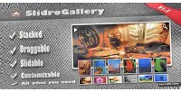 The slidrogallery stacked slider gallery draggable