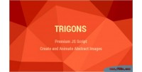Trigons create & animate images svg abstract