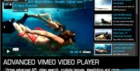 Vimeo advanced video player