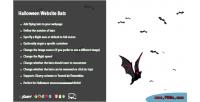 Website halloween bats
