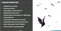 Website halloween bats