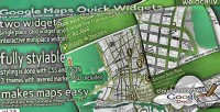 Widgets map for jquery