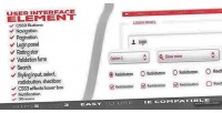 Interface user elements