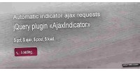 Ajax auto loader indicator