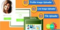Drop drag image uploader file and