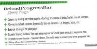 Jquery reloadprogressbar plugin