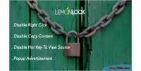 Lock lemon site advertisement