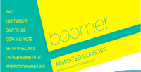 Animated boomer cursors