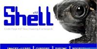 Ascii shell framework drawing box