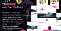 Audio fxmusica playlist with player