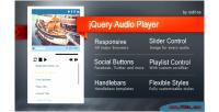 Audio jquery player
