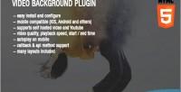 Background video plugin