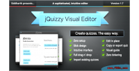 Classic jquizzy editor visual interactive