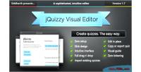 Classic jquizzy editor visual interactive