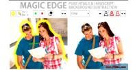 Edge magic pure remover background javascript