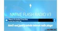 Flash native radio