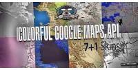 Google colorful maps api