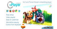 Hplayer vlc & ace player web stream