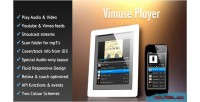 Html5 vimuse media player