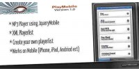 Jquery playmobile mobile player. mp3 xml