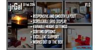 Jquery responsive gallery & jrgal lightbox