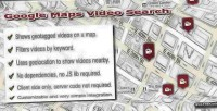 Maps google video search