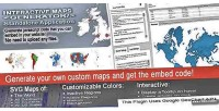 Maps interactive generator