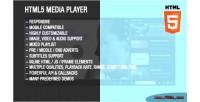 Media html5 player