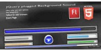 Plugged jquery sound background html5