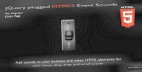 Plugged jquery sounds event html5