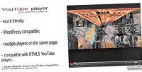 Jquery plugin youtube video playlist with player