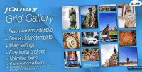 Responsive jquery grid gallery