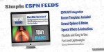 Simple jquery espn feeds