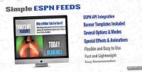Simple jquery espn feeds